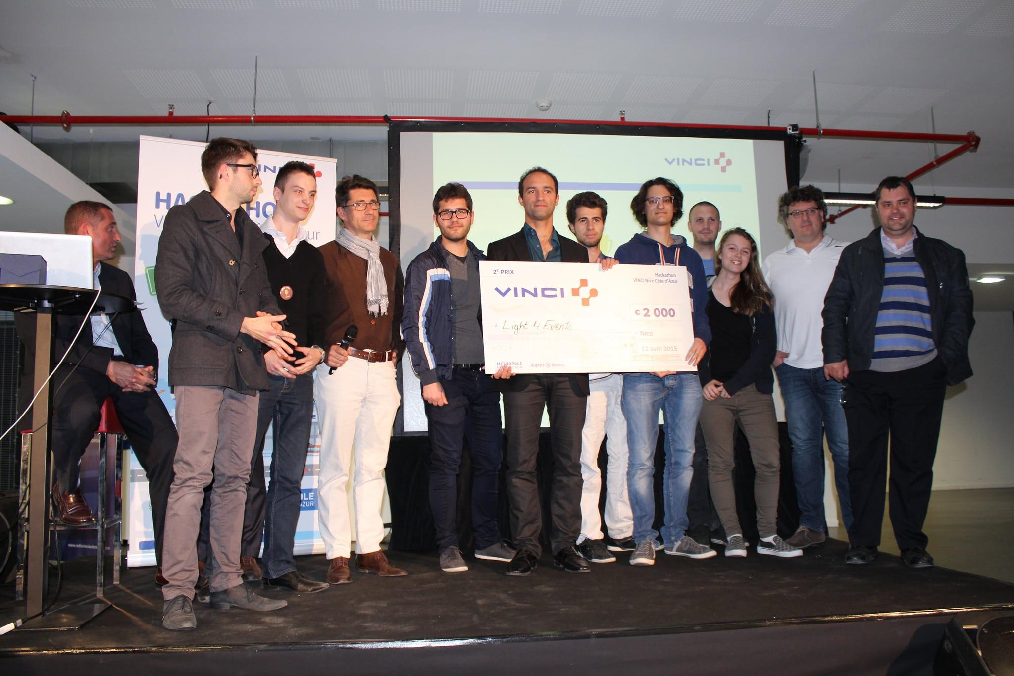 2ème place au Hackathon Vinci